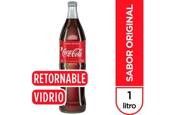 Refresco Coca Cola Retornable 1l En Tienda Inglesa