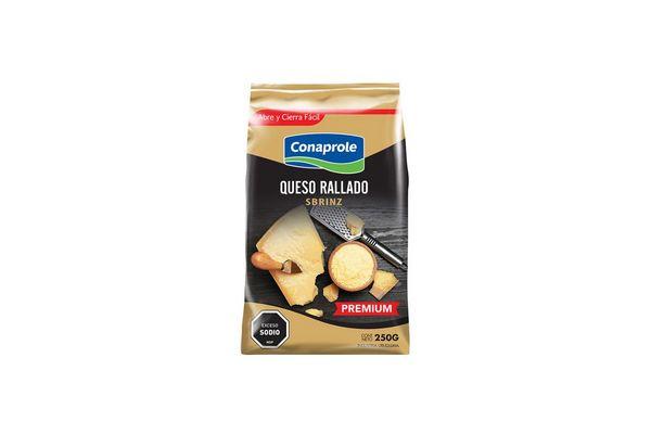 Queso Rallado Sbrinz Premium CONAPROLE 250 gr en Tienda Inglesa