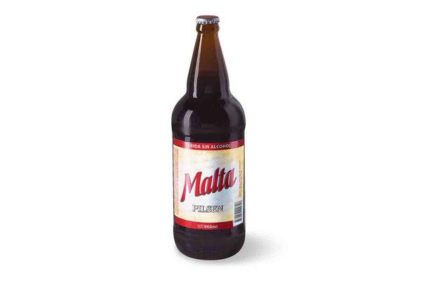 Malta PILSEN Botella 960ml en Tienda Inglesa