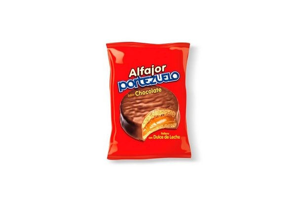 Alfajor PORTEZUELO de Chocolate 40gr en Tienda Inglesa