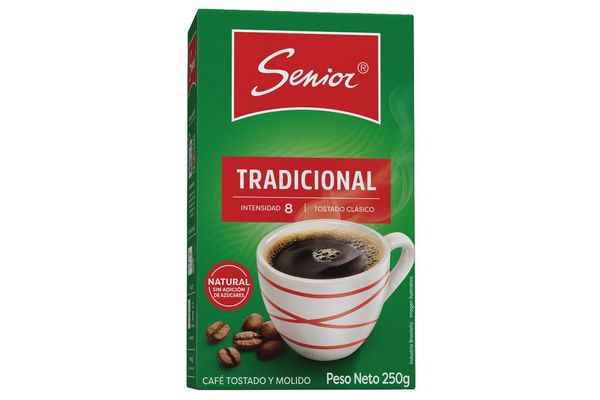 Café Tradicional Tostado Clásico SENIOR 250 gr en Tienda Inglesa