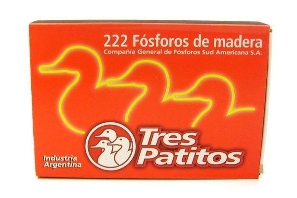 Fósforos TRES PATITOS x222u en Tienda Inglesa
