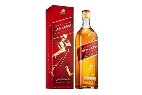 Whisky JOHNNIE WALKER Red Label 1 L en Tienda Inglesa