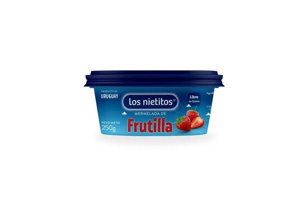 Mermelada LOS NIETITOS Sabor Frutilla Pote 250g en Tienda Inglesa