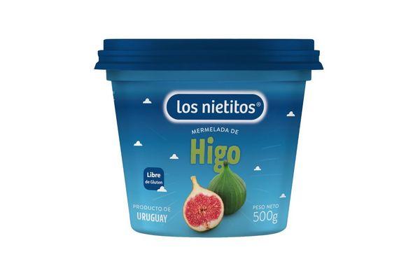Mermelada LOS NIETITOS sabor Higo Pote 500g en Tienda Inglesa
