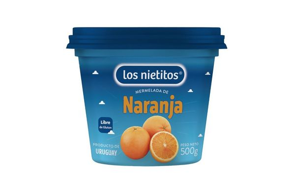 Mermelada LOS NIETITOS Sabor Naranja Pote 500g en Tienda Inglesa
