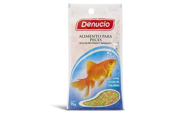 Denucio Alimento para Peces 15g en Tienda Inglesa