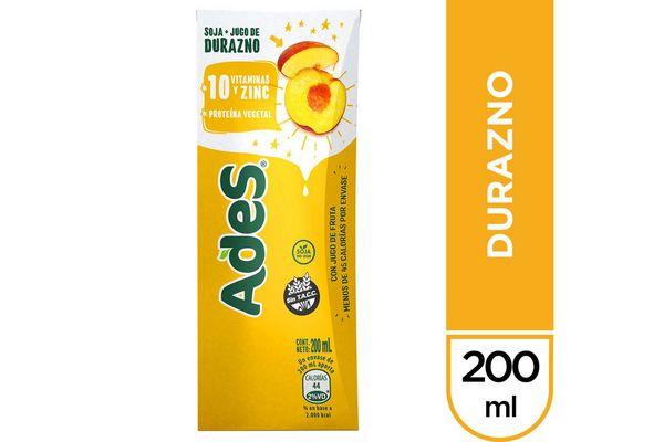 Jugo ADES Sabor Durazno 200 ml en Tienda Inglesa