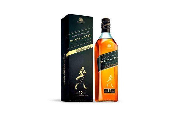 Whisky JOHNNIE WALKER Black Label 1 L en Tienda Inglesa