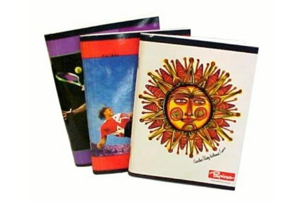 Cuaderno Rayado PAPIROS 144 Hojas en Tienda Inglesa
