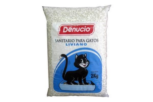Piedras Sanitarias DENUCIO para Gatos Liviano 2kg en Tienda Inglesa