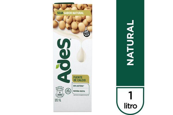 Leche de Soja ADES Sabor Natural 1 L en Tienda Inglesa
