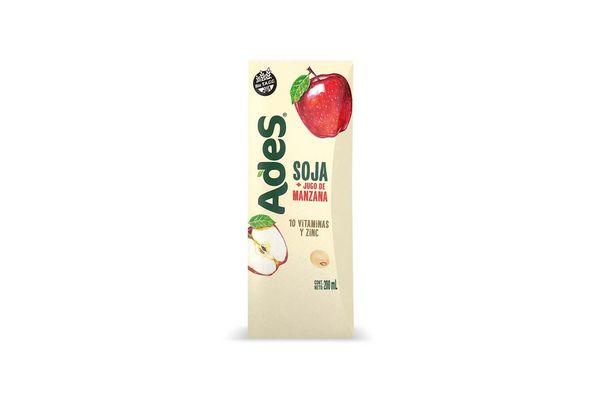 Jugo ADES Sabor Manzana 1 L en Tienda Inglesa