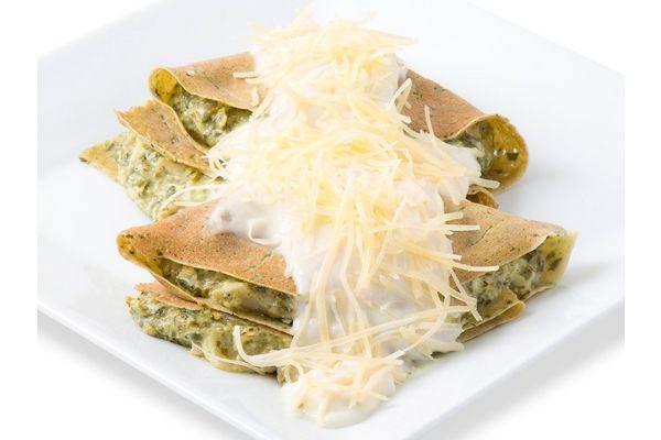 Crepes de Espinaca, Ricotta y Jamón con Salsa x 2 Unidades en Tienda Inglesa