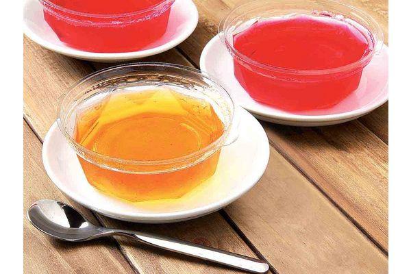 Gelatina Dietética de Durazno Reducidas en Calorías en Tienda Inglesa