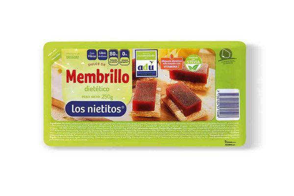 Dulce de Membrillo LOS NIETITOS Dietético 250g en Tienda Inglesa