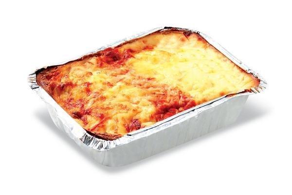 Lasagna de Masa Verde Rellena de Carne por Porción en Tienda Inglesa