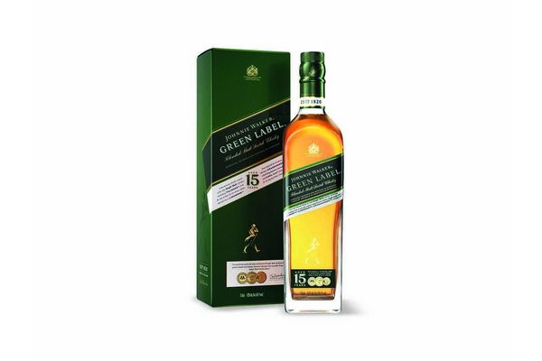 Whisky JOHNNIE WALKER Green Label 750 ml en Tienda Inglesa