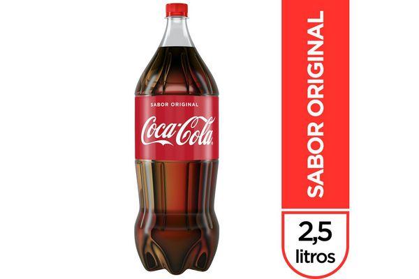 Refresco COCA-COLA Sabor Original Descartable 2.5 L en Tienda Inglesa