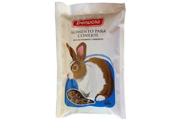 DENUCIO Alimento para Conejos 500g en Tienda Inglesa