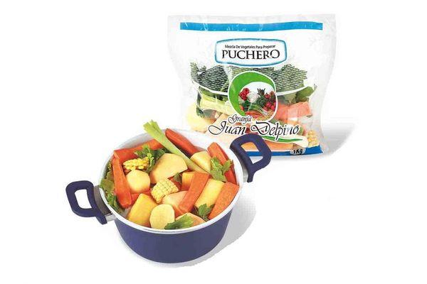 Mezcla de Vegetales para Preparar Puchero GRANJA JUAN DELPINO 1 Kg en Tienda Inglesa