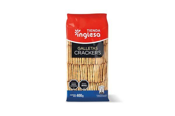 Galletas Crackers TIENDA INGLESA 400 gr en Tienda Inglesa