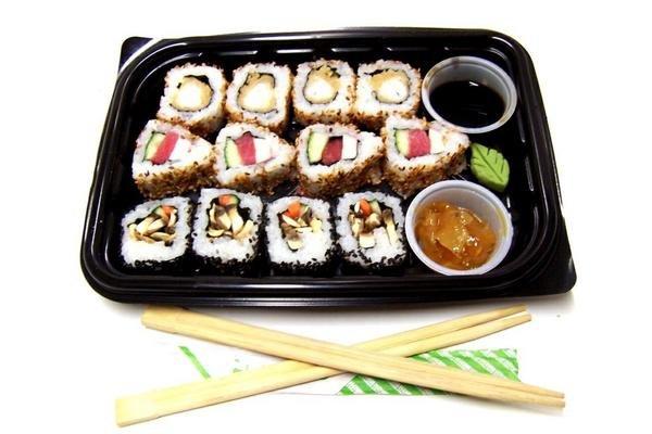 Sushi Agemono 12 Piezas en Tienda Inglesa