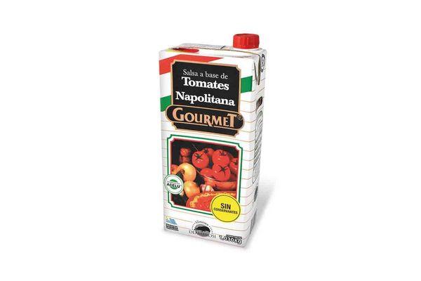 Salsa de Tomate GOURMET Napolitana 1030 gr en Tienda Inglesa