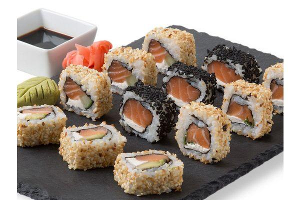 Sushi American Rolls 12 Piezas en Tienda Inglesa