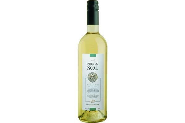 Vino Blanco PUEBLO DEL SOL Sauvignon Blanc 750ml en Tienda Inglesa