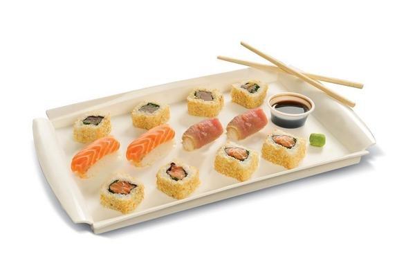 Sushi Arcoiris 12 Piezas en Tienda Inglesa