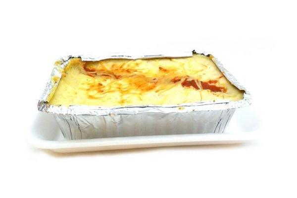Lasagna con Jamón, Queso y Verdura por Porción en Tienda Inglesa
