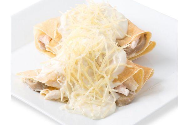 Crepes de Pollo y Champignon con Salsa x 2 Unidades en Tienda Inglesa