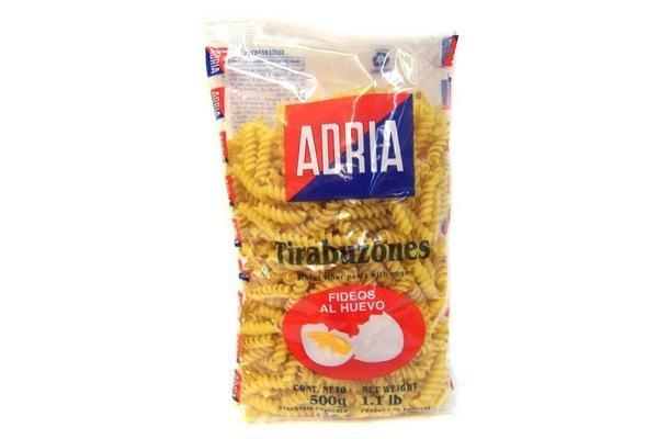 Fideos ADRIA Tirabuzones 500 gr en Tienda Inglesa