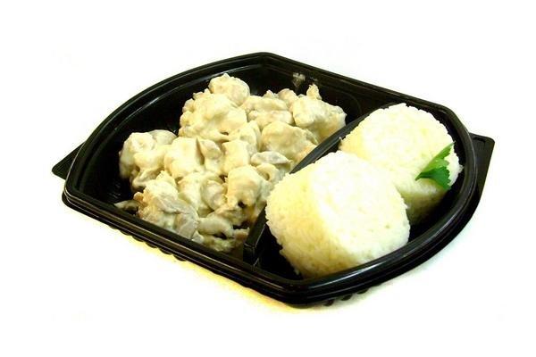 Pollo a la Crema con Espinaca en Tienda Inglesa