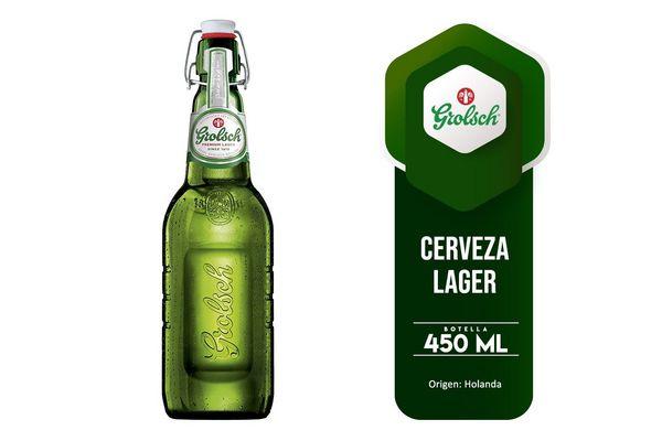 Cerveza GROLSCH Premium Pilsner botella 450ml en Tienda Inglesa