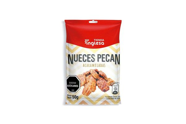 Nueces Pecan Acarameladas TIENDA INGLESA 50 gr en Tienda Inglesa