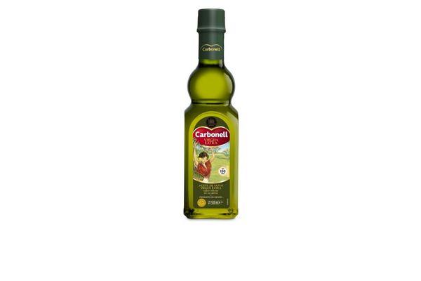 Aceite de Oliva CARBONELL Extra Virgen en Botella 500cc en Tienda Inglesa