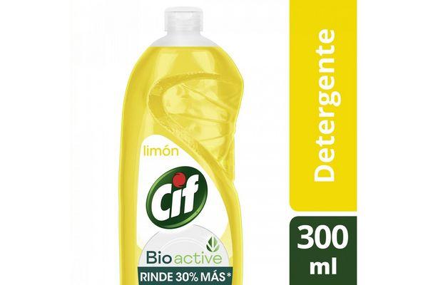 Detergente CIF Ultra Fácil Enjuague Fragancia Limón 300ml en Tienda Inglesa