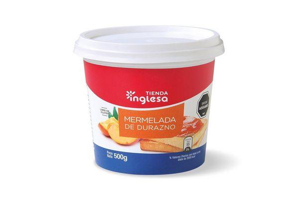 Mermelada TIENDA INGLESA de Durazno 500 gr en Tienda Inglesa