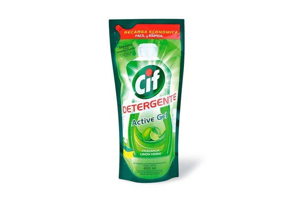 Detergente CIF Gel Limón Sachet 450 ml en Tienda Inglesa