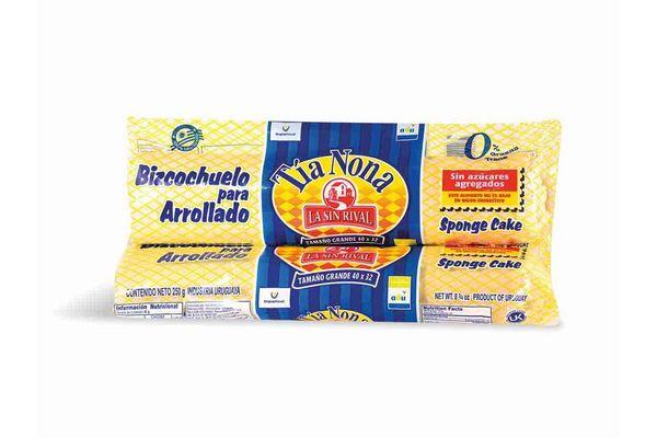 Arrollado LA SIN RIVAL sin Azúcar 250gr en Tienda Inglesa