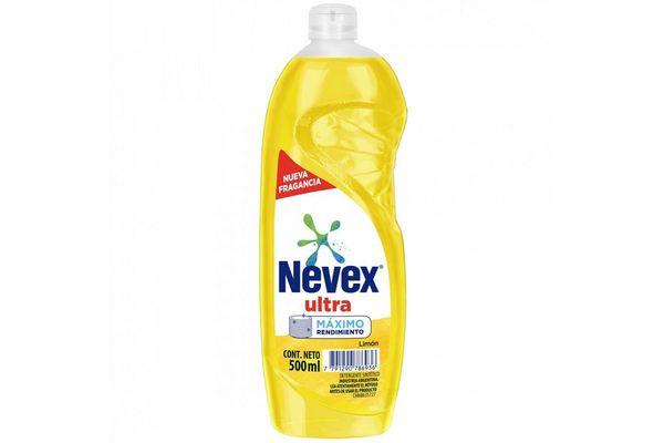 Detergente NEVEX ULTRA Limón Doble Poder 500 ml en Tienda Inglesa