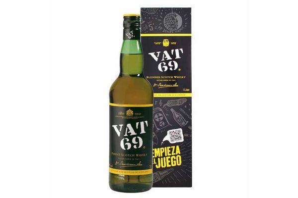 Whisky VAT 69 1 L en Tienda Inglesa