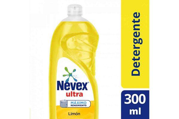 Detergente NEVEX Ultra Limón 300ml en Tienda Inglesa