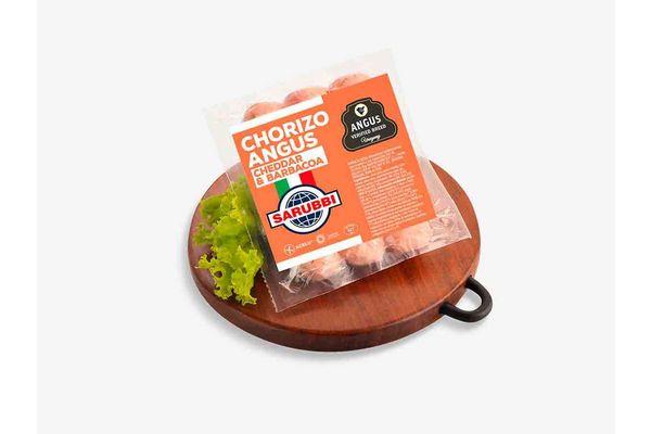 Chorizos Angus Cheddar y Barbacoa al Vacío SARUBBI x 3 Unidades en Tienda Inglesa