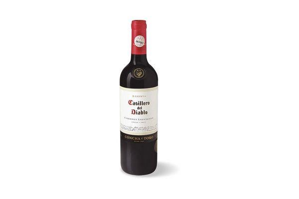 Vino Tinto CASILLERO DEL DIABLO  Cabernet Sauvignon 750 ml en Tienda Inglesa