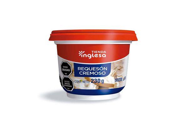 Queso Untable RequesónTIENDA INGLESA 230 gr en Tienda Inglesa