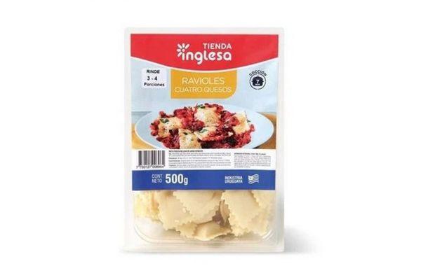 Ravioles 4 Quesos TIENDA INGLESA 500 gr en Tienda Inglesa