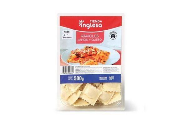 Ravioles Jamón y Queso TIENDA INGLESA 500 gr en Tienda Inglesa